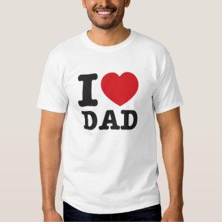 I heart Dad classy Tee Shirt