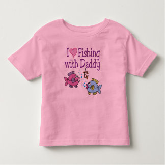 I Heart Fishing With Daddy Tshirt