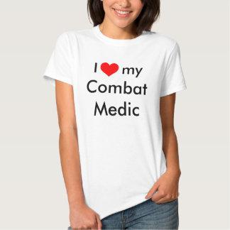 I heart my Combat Medic Tshirt
