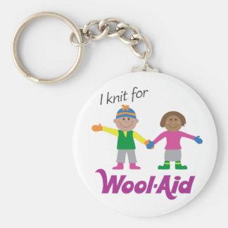 I Knit for Wool-Aid keychain
