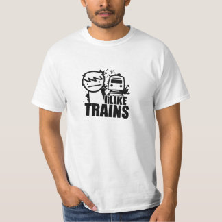 I like trains. tees