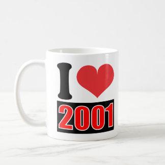 I love 2001 - Mugs