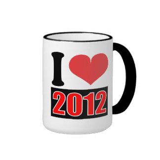 I love 2012 - Mugs