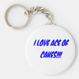 I LOVE ACE OF CAKES!!!! BASIC ROUND BUTTON KEY RING