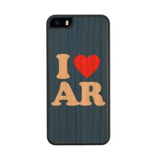 I LOVE AR WOOD iPhone SE/5/5s CASE