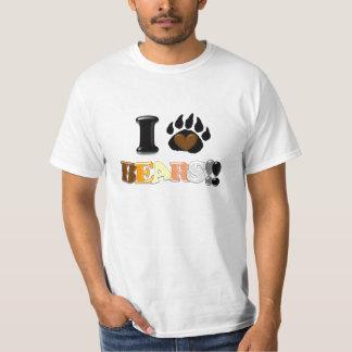 I Love Bears!! (Value Tee) Tshirts