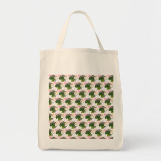 I love Broccoli tote Grocery Tote Bag
