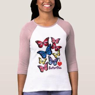 I love Butterflies Tee Shirts