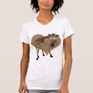 I Love Giraffes T Shirts