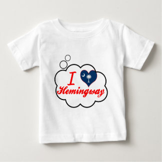 I Love Hemingway, South Carolina Infant T-Shirt
