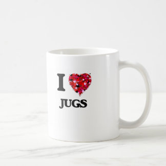 I love Jugs Basic White Mug