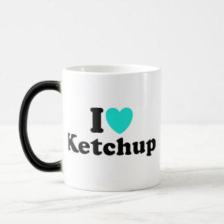 I Love Ketchup Morphing Mug