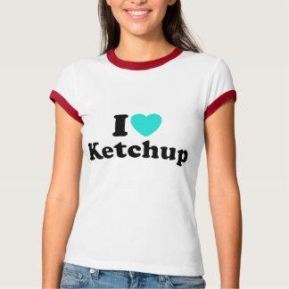 I Love Ketchup T Shirt