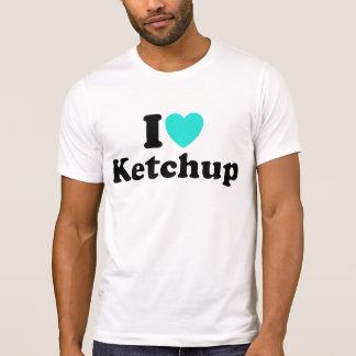 I Love Ketchup Tee Shirts