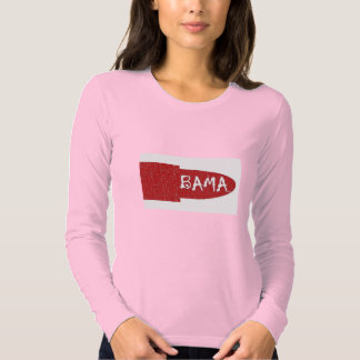 I love  Ladies Long Sleeve(Fitted) Shirt