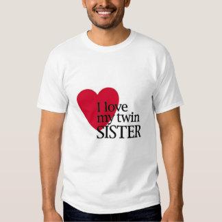 I love m twin sister shirts