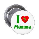 I  Love Mamma 6 Cm Round Badge