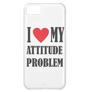 I Love My Attitude Problem iPhone 5C Case