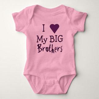 I LOVE My Big Brothers T T-shirt