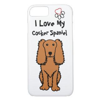 I Love My Cocker Spaniel iPhone 7 Case