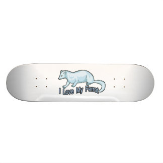 I Love My Ferret Skateboard Decks