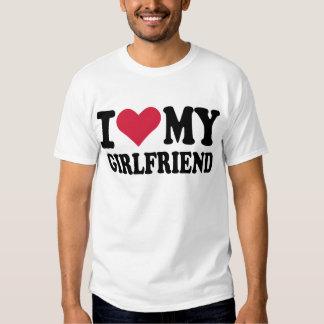 I love my girlfriend tee shirt