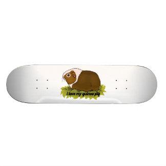 I Love My Guinea Pig 19.7 Cm Skateboard Deck