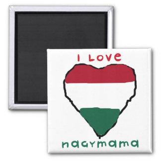 I Love Nagymama Magnet