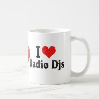 I Love Radio Djs Basic White Mug