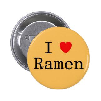 I Love Ramen 6 Cm Round Badge