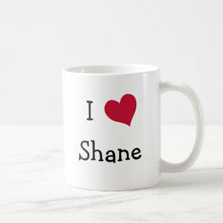 I Love Shane Basic White Mug