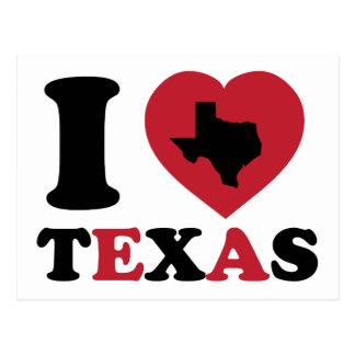 I Love Texas Postcard