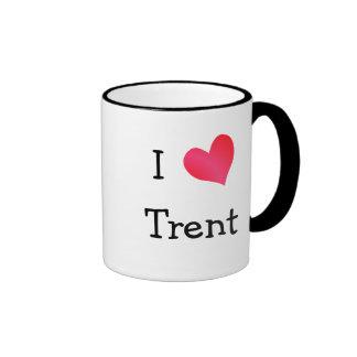 I Love Trent Ringer Mug