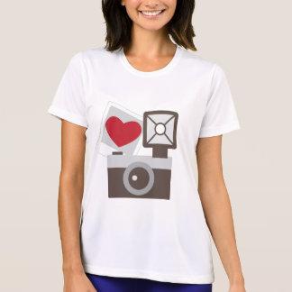 I Love Vintage Camera T Shirt