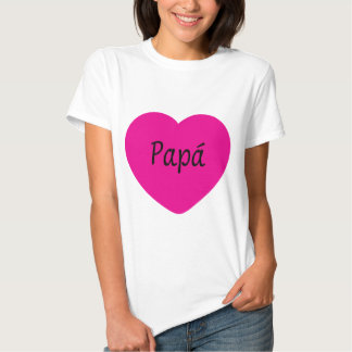 I Love You, Dad Tee Shirts