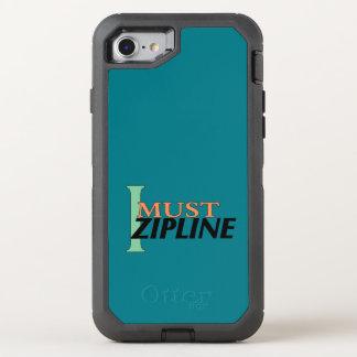 I Must Zipline iPhone OtterBox Defender iPhone 7 Case