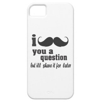 I mustache you a question barely there iPhone 5 case