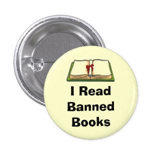 I Read Banned Books 3 Cm Round Badge