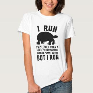 I Run (Turtles) T-shirts