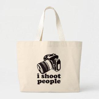 I Shoot People! Jumbo Tote Bag