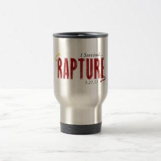 I Survived Rapture 5/21/11Mug Stainless Steel Travel Mug