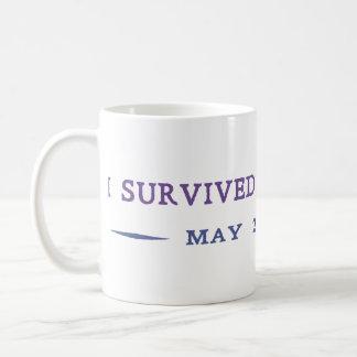 I Survived the Rapture Basic White Mug