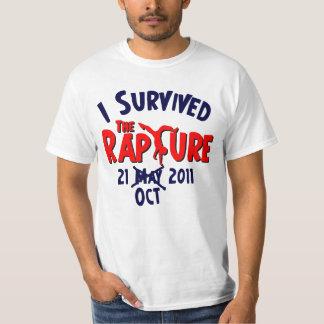 I Survived The Rapture October 21 Tshirt