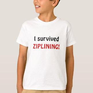 I Survived Ziplining Shirt