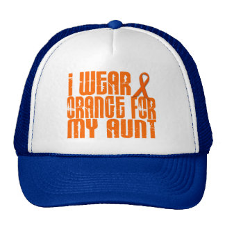 I Wear Orange For My Aunt 16 Cap