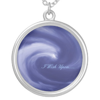 I Wish Upon..... Round Pendant Necklace