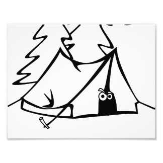 #Icamp camping tent Photographic Print