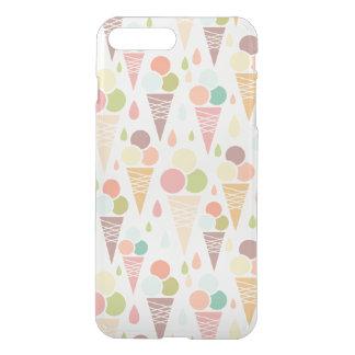 Ice cream cones pattern iPhone 7 plus case