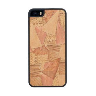 Ice Cream Cones Wood iPhone SE/5/5s Case