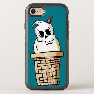 Ice Cream Skull Cone OtterBox Symmetry iPhone 7 Case
